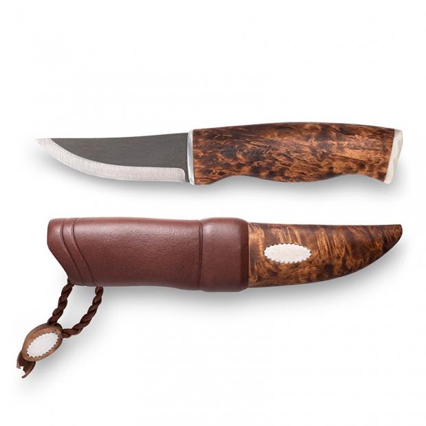 Finský nůž Roselli Wootz 23cm Nalle / sobí paroží