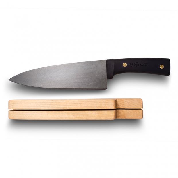 Kuchařský nůž Roselli Wootz 33cm / silikon