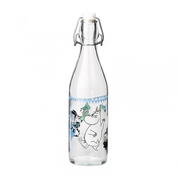 Sklenená fľaša Moomin Summer Party 0,5l