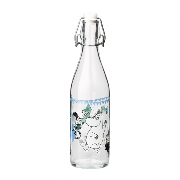 Skleněná lahev Moomin Summer Party 0,5l