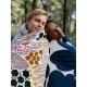 Obliečky Pieni Letto 150x210, bielo-hnedé