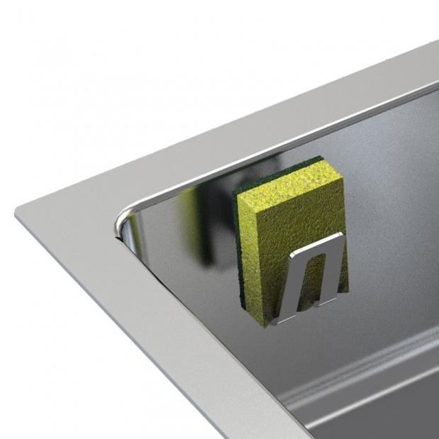 Magnetický držiak na špongiu