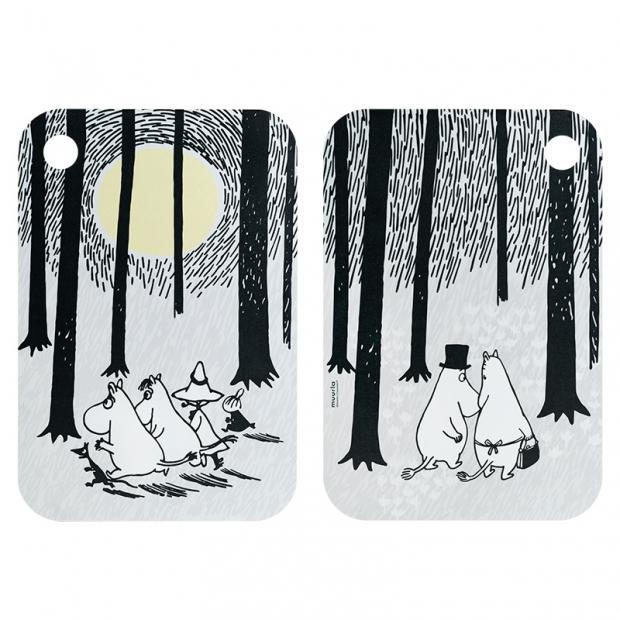 Doska Moomin In the Woods 21x31cm