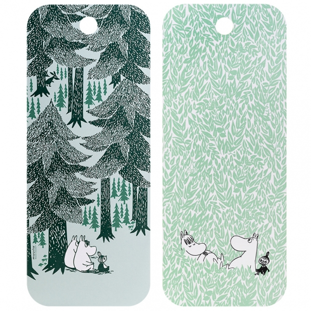 Prkénko Moomin In the Depth of the Forest 18x44cm