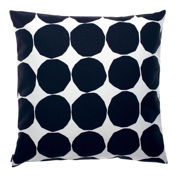 Obliečka na vankúš Pienet Kivet 50x50, čierno-biela