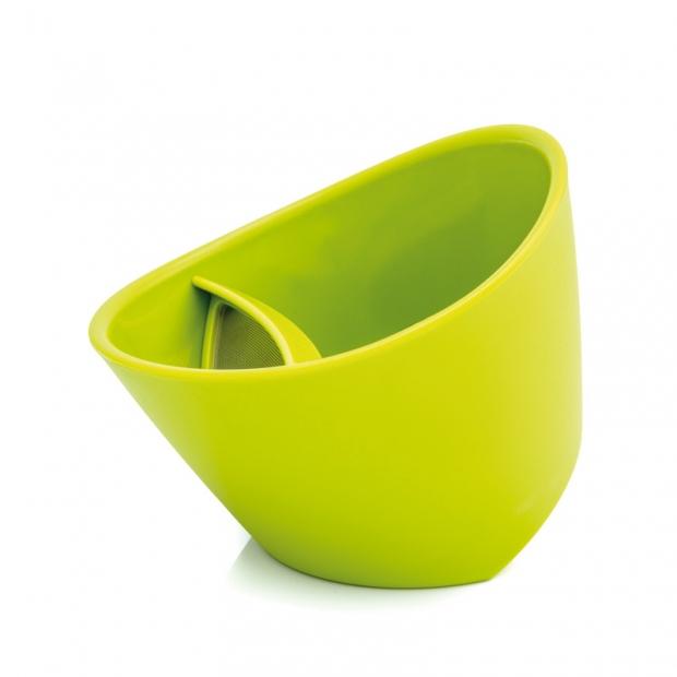 Chytrý hrnček na čaj 0,25 l, zelený