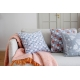 Mohérová deka Revontuli 130x170, ružovo-oranžová