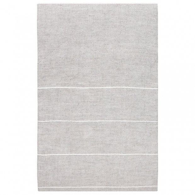 Lněný ubrus Kaste 150x260, len-bílý