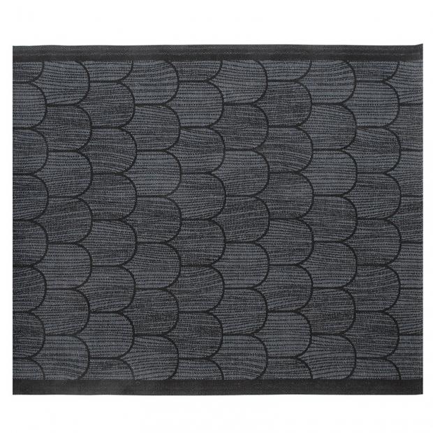 Podložka do sauny Paanu 46x60, tmavo sivá