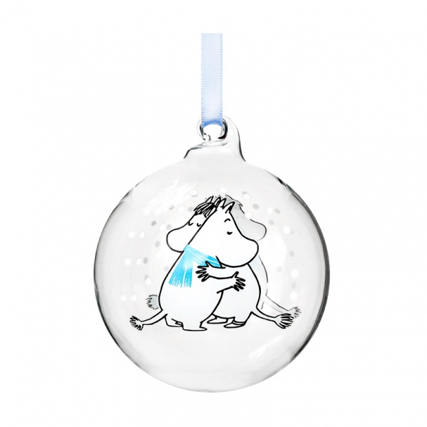 Vánoční ozdoba Moomin Cuddle 7cm