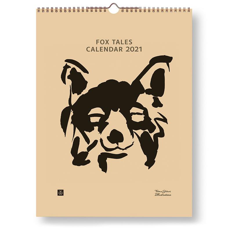 Kalendář 2021 Fox Tales 30x40