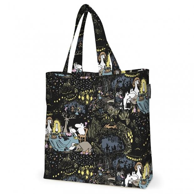 Taška Moomin Tähtimuumi 45x42, čierna