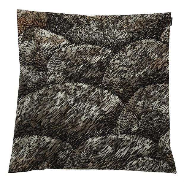 Povlak na polštář Kokadera 50x50, hnědý