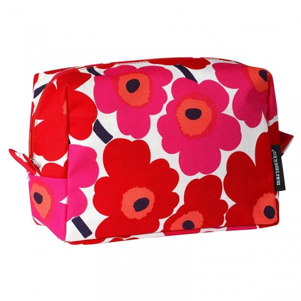 Kosmetická taška Vilja Unikko, červená