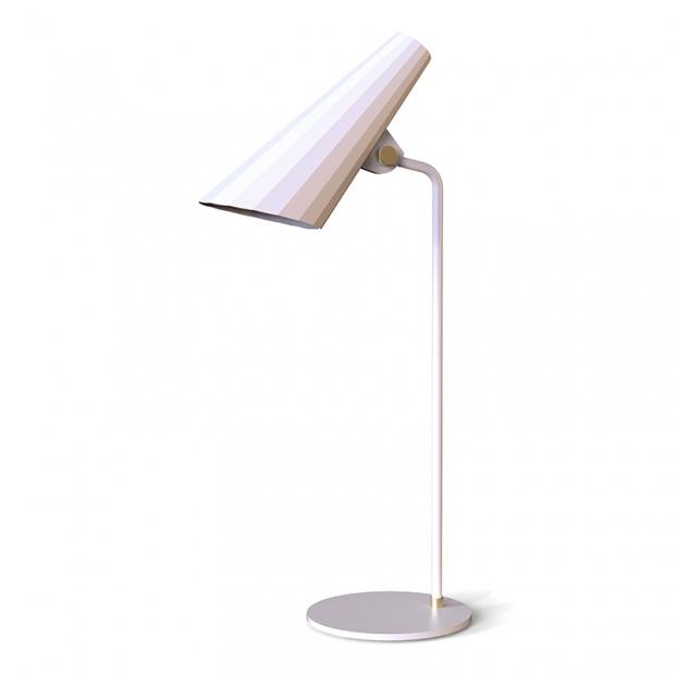Stolná lampa Siro, biela