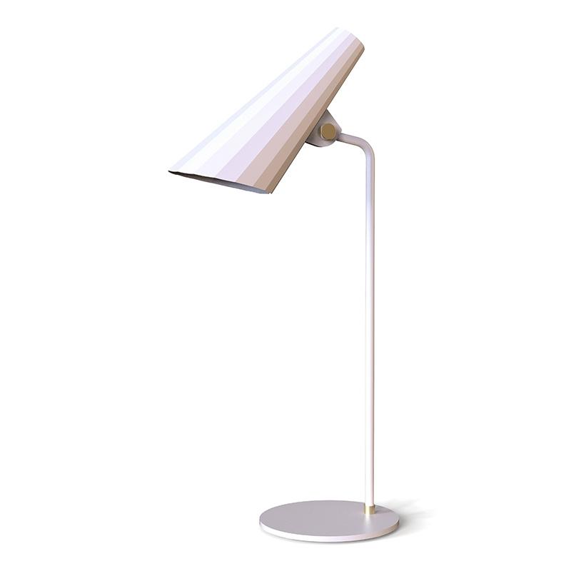 Stolní lampa Siro, bílá