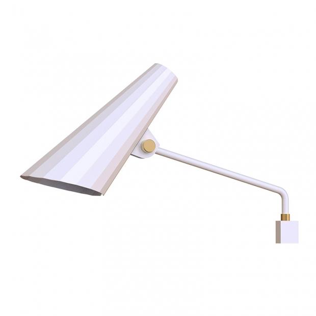 Nástenná lampa Siro 250, biela