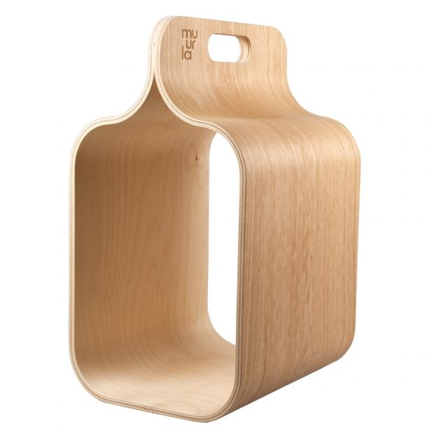 Úložný box na drevo Carrier, dub