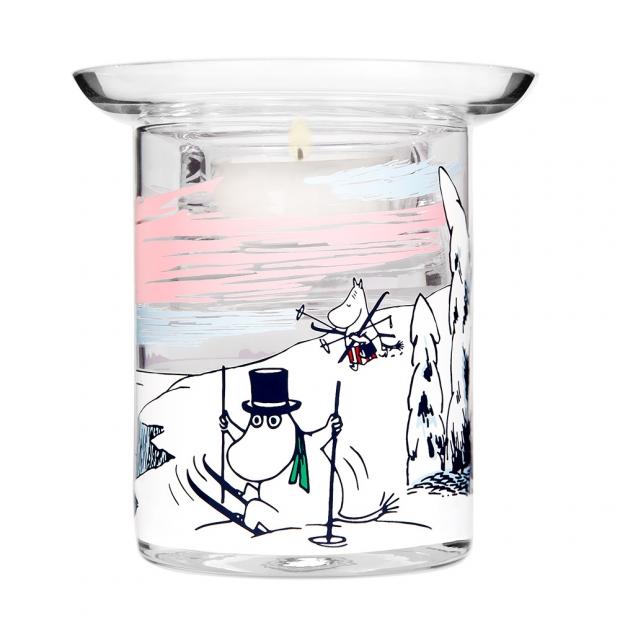 Svícen Moomin Winter time