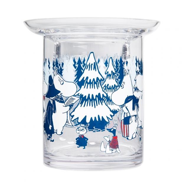 Svícen Moomin Winter Forest