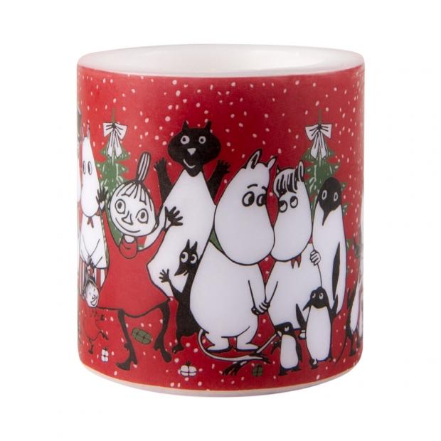 Svíčka Moomin Winter magic 8cm
