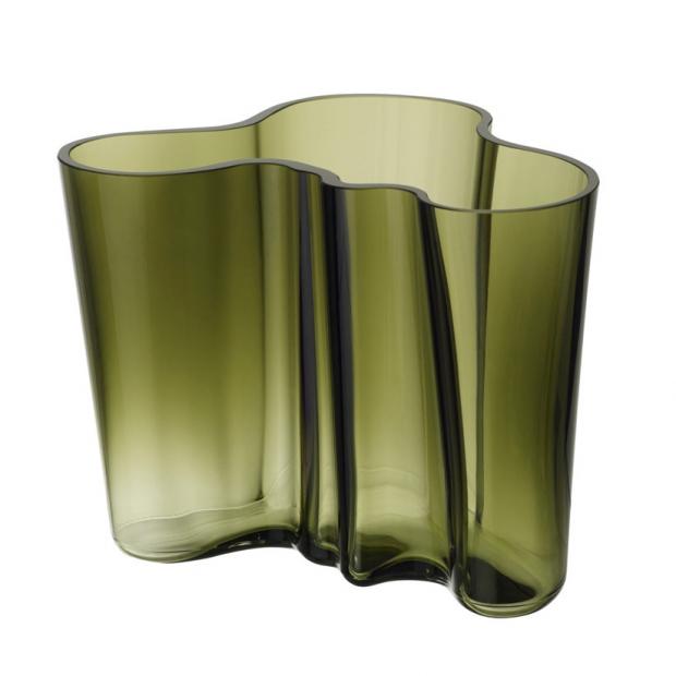 Váza Alvar Aalto 160mm, machová