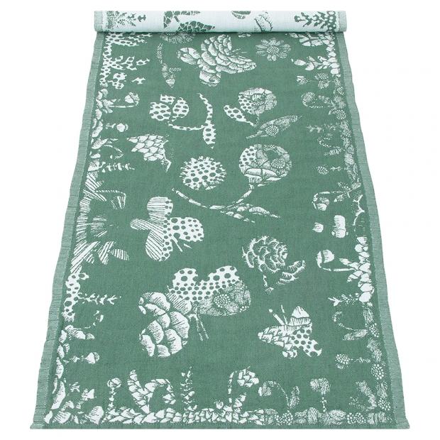 Běhoun Aamos 48x150, zeleno-bílý