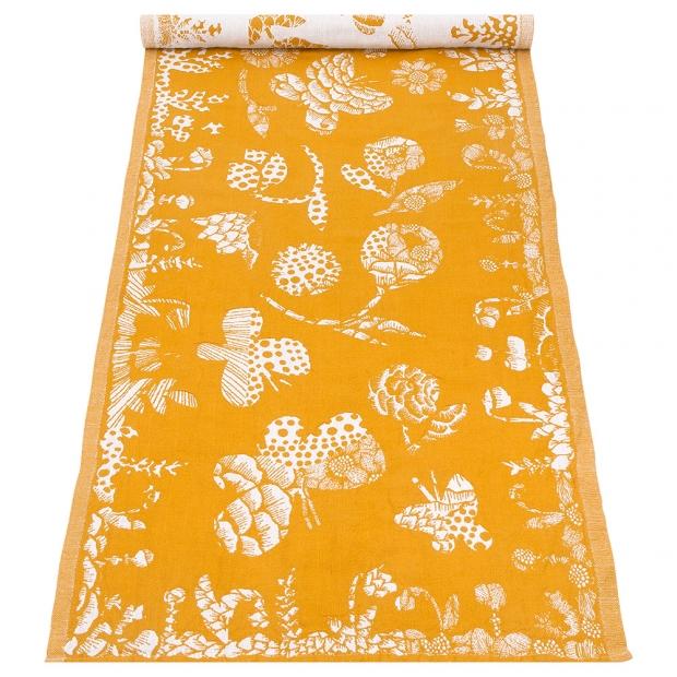 Běhoun Aamos 48x150, žluto-bílý