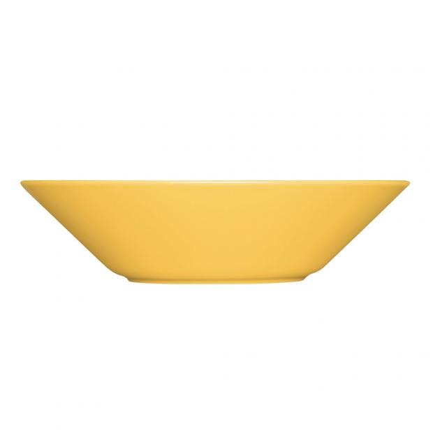 Hluboký talíř Teema 21cm, žlutý honey