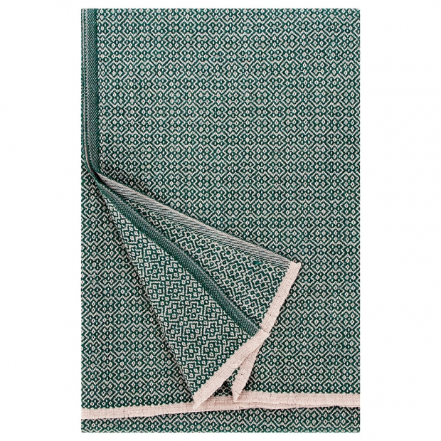 Merino deka Koli 135x170, béžovo-zelená