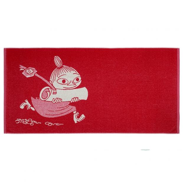 Osuška Little My 70x140cm, červená