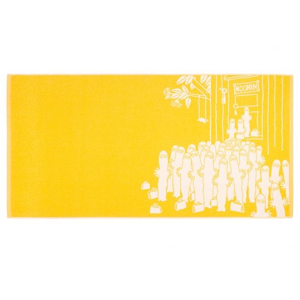 Osuška Hattifatteners 70x140cm, žlutá