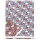 Deka / ubrus Tulppaani 130x180, skořicově-modrá