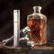 Lahev na alkohol Ukkomatti 100ml, kožené pouzdro