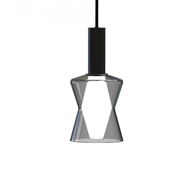 Závěsná lampa Tiima, šedá