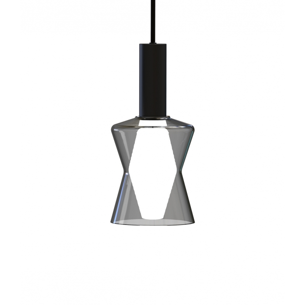 Závesná lampa Tiima, sivá