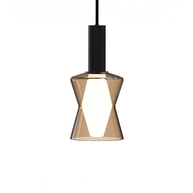 Závěsná lampa Tiima, písková