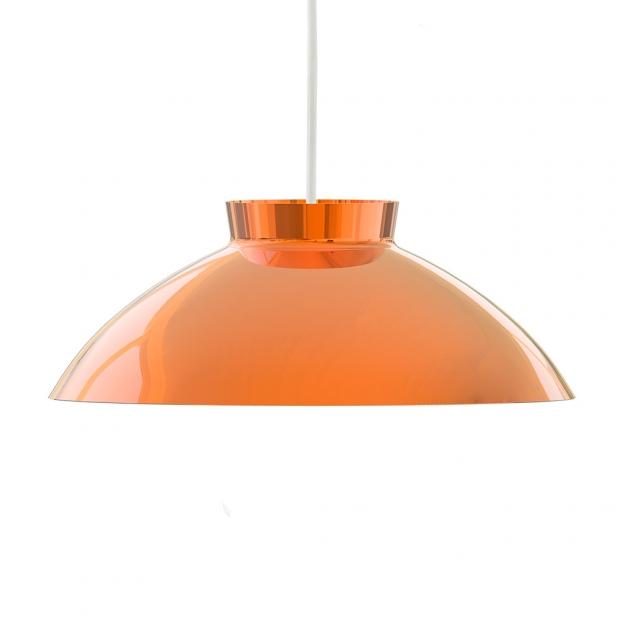 Závěsná lampa Sirri, měděná