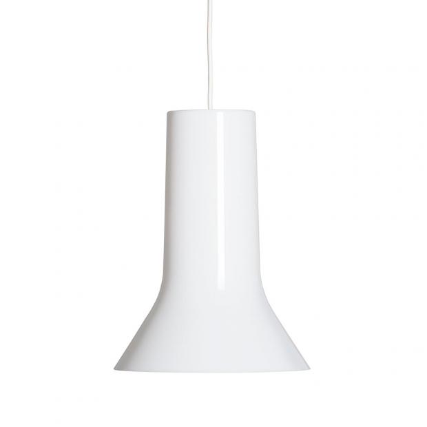 Závěsná lampa Vaasi, bílá