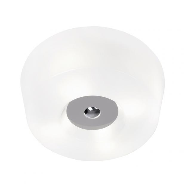 Stropní lampa Yki 500, šedá