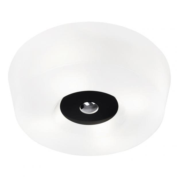 Stropná lampa Yki 600, čierna