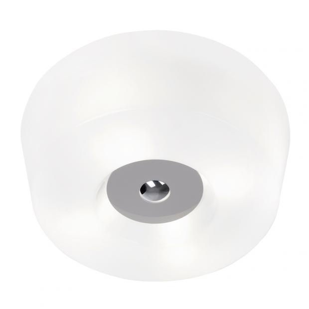 Stropní lampa Yki 600, šedá