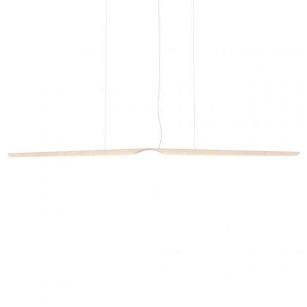Závesná lampa Swan, breza
