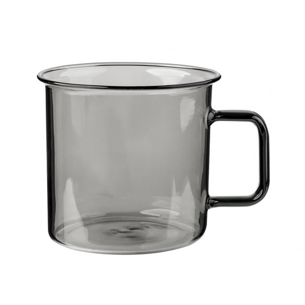 Hrnček Glass 0,35l, sivý