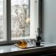 Hrnek Glass 0,35l, jantarový