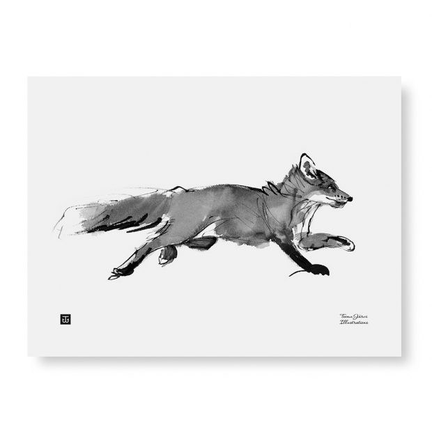 Plagát Adventurous Fox 40x30