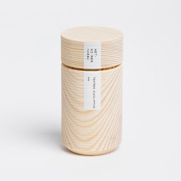 Přírodní deodorant Hetkinen 55ml, tea tree-eukalyptus