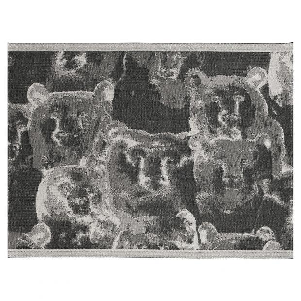 Podložka do sauny Otso 46x60, ľan-čierna