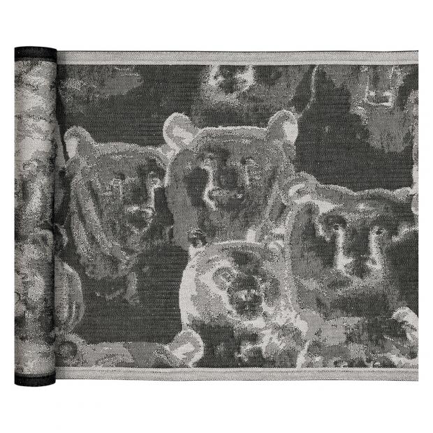 Podložka do sauny Otso 46x150, len-černá
