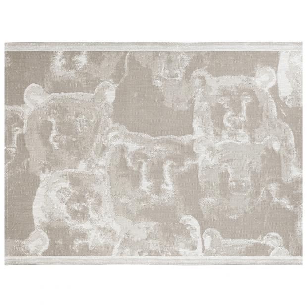 Podložka do sauny Otso 46x60, ľan-biela